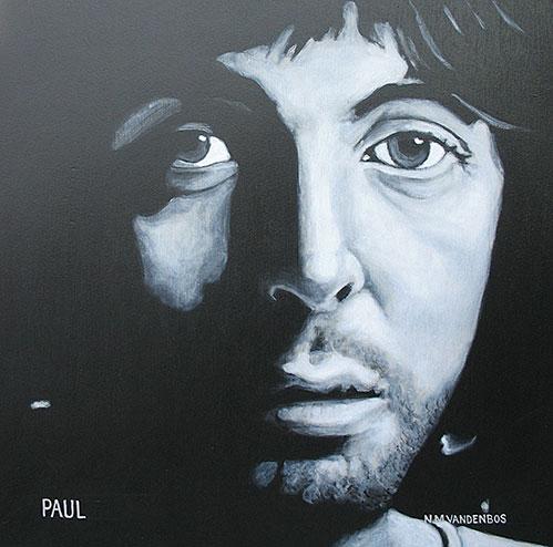 Nate VandenBos Portrait Art As Unique A Fingerprint Paul McCartney