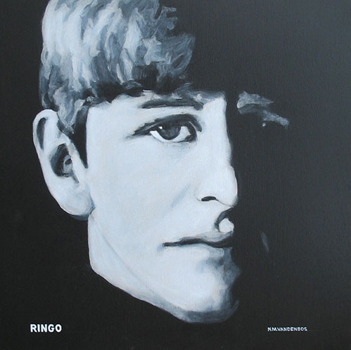 Nate VandenBos Portrait Art As Unique A Fingerprint Ringo Starr 2